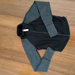 Active crop jacket
